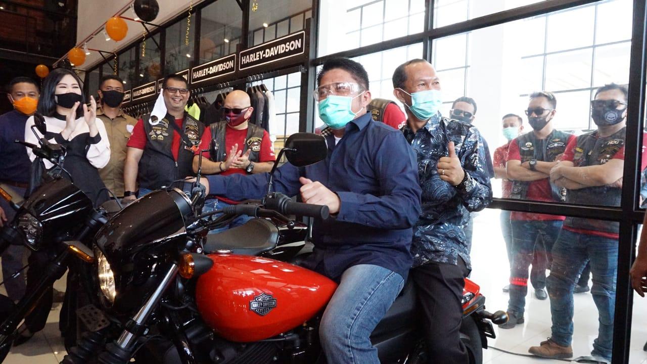 Herman Deru Ajak Penggemar Harley Ramaikan Grand Fondo OKU Selatan