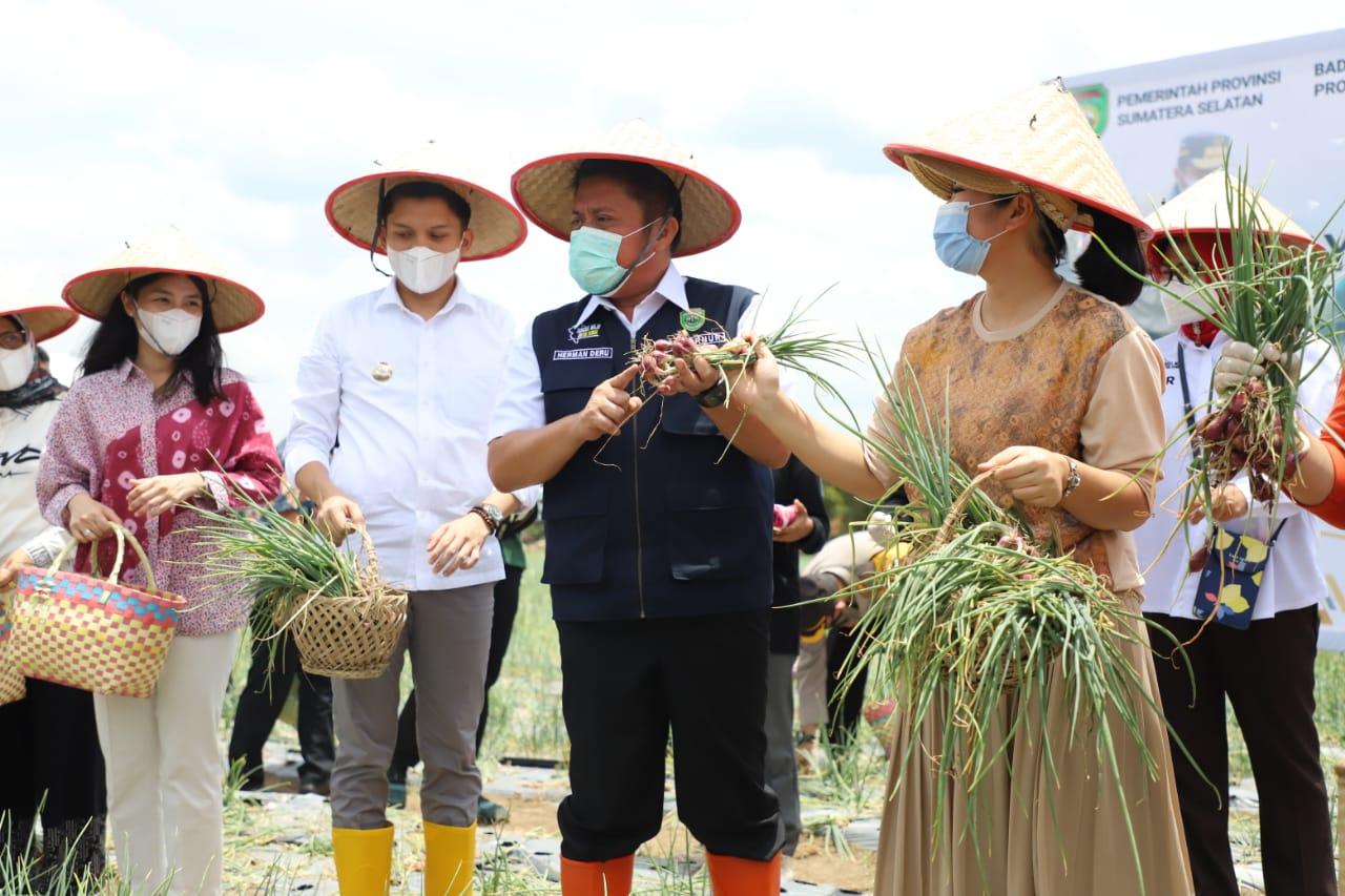 HD Resmikan Sriwijaya Science Tehno Park Sebagai Pusat Agro Wisata dan Edukasi Masyarakat