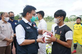 Realisasi Gerakan Sejuta Bola Inisiasi Gubernur Herman Deru Sukses di 16 Kabupaten/Kota